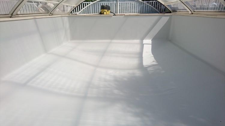 Entretien de piscine la c te saint andr r nov 39 piscines - Piscine pvc arme gris clair ...